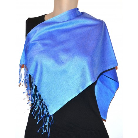 Stole: 100% Silk (customizable) 30x150 cms