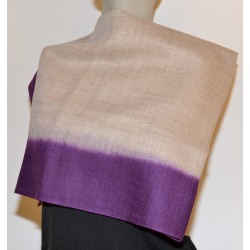 Scarf: 92% Wool - 8% Silk